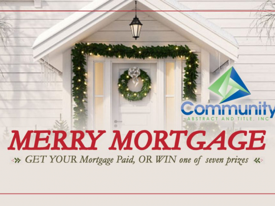 The Merry Mortgage sweepstakes is here!